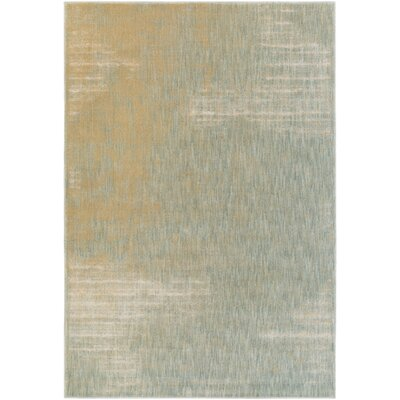 Detweiler Brown/Blue Area Rug Rug Size: Rectangle 710 x 910