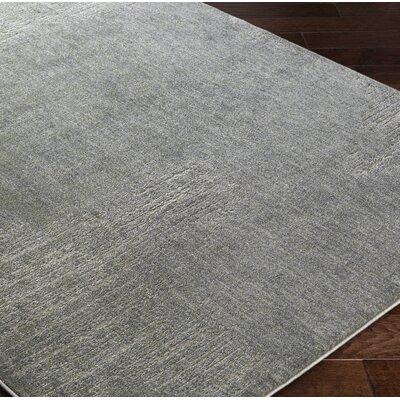 Fran Gray Area Rug Rug Size: 110 x 211