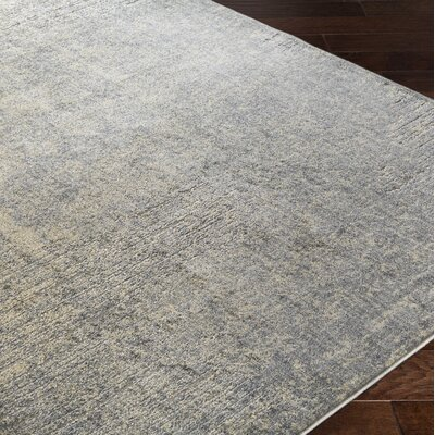 Fran Beige/Gray Area Rug Rug Size: 110 x 211
