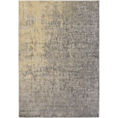 Detweiler Beige/Gray Area Rug Rug Size: 710 x 910