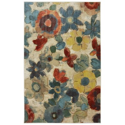 Ortega Beige Area Rug Rug Size: Rectangle 5 x 8