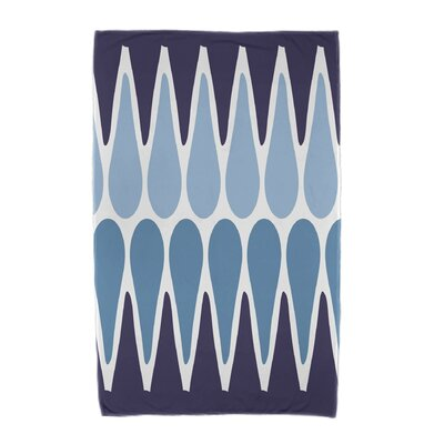 Beach Towel Color: Navy Blue/Light Blue