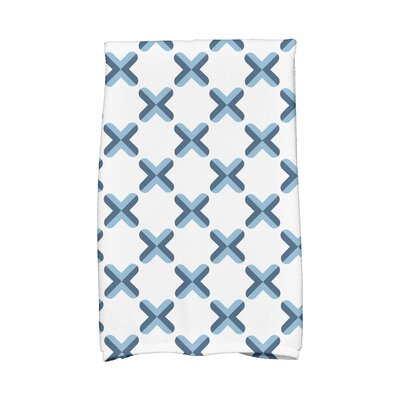 Criss Hand Towel Color: Light Blue