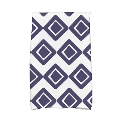 1 Hand Towel Color: Navy Blue