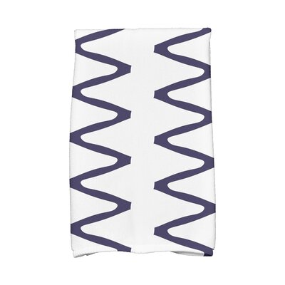 Zipped Hand Towel Color: Navy Blue