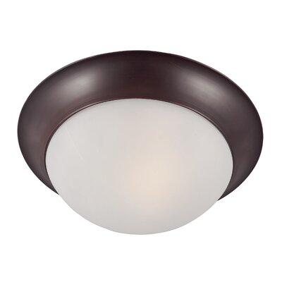 Brenden 1-Light Glass Shade Flush Mount