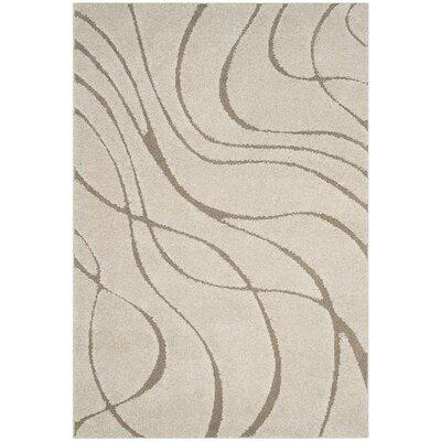 Enrique Cream/Beige Area Rug Rug Size: 6 x 9