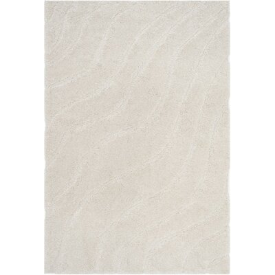 Enrique Cream Area Rug Rug Size: 33 x 53