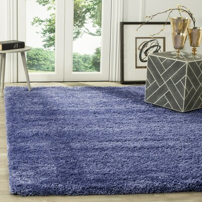 Enrique Periwinkle Area Rug Rug Size: Rectangle 67 x 96