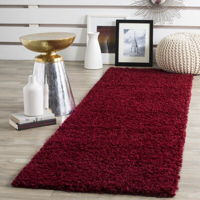 Cherlyn Red Area Rug