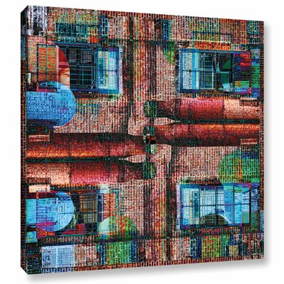'Crayola Works' Graphic Art on Wrapped Canvas Size: 14