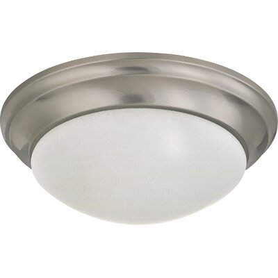 Candice 1-Light Flush Mount Finish: Brushed Nickel