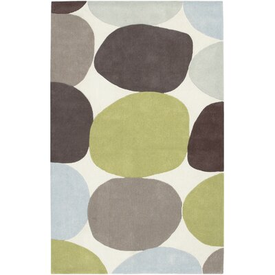 Deveau Ivory Multi Area Rug Rug Size: Rectangle 36 x 56