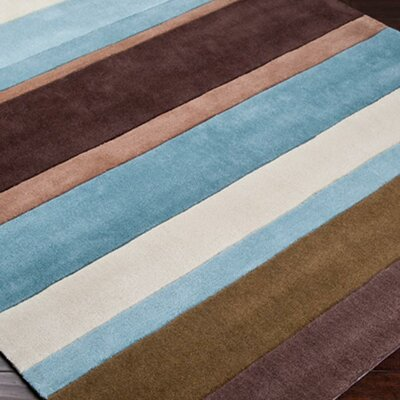 Elisa Chocolate Rug Rug Size: Rectangle 9 x 13