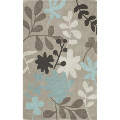 Deveau Taupe Rug Rug Size: Rectangle 3'6