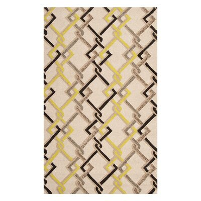 Alpena Ivory Indoor/Outdoor Rug Rug Size: Rectangle 8 x 10
