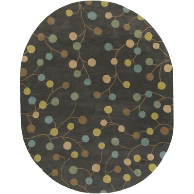 Diana Pewter Area Rug Rug Size: Rectangle 6 x 9