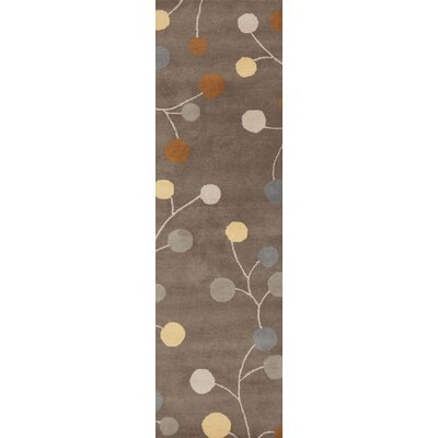 Diana Oyster Gray Area Rug Rug Size: Rectangle 2 x 3