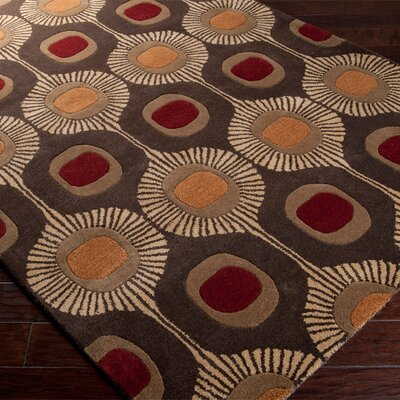 Dewald Multi-Colored Area Rug Rug Size: 2 x 3