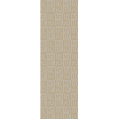 Diego Silver Cloud & Parsnip Area Rug Rug Size: Rectangle 8 x 11