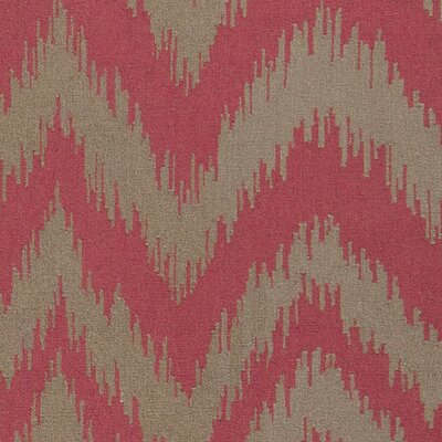 Marion Mossy Dusty Orange Zig Zag Area Rug Rug Size: Rectangle 8 x 11
