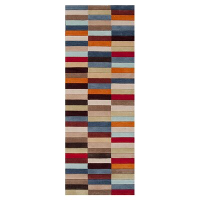 Deveau Raw Umber/Parsnip Rug Rug Size: Rectangle 5 x 8