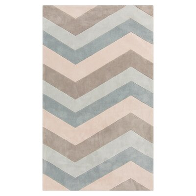 Deveau Multi Chevron Rug Rug Size: 36 x 56
