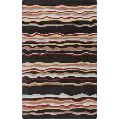 Dewald Striped Area Rug Rug Size: 9 x 12