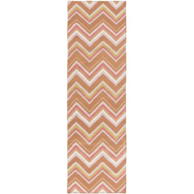 Diego Chevron Wool Area Rug Rug Size: Rectangle 2 x 3