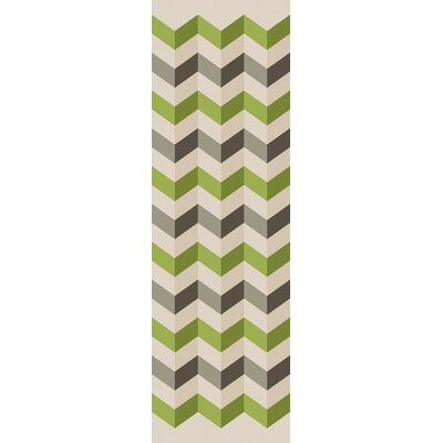 Diego Hand Tufted Chevron Area Rug Rug Size: Rectangle 5 x 8