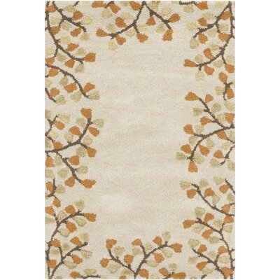 Albrightsville Ivory Area Rug Rug Size: Rectangle 76 x 96