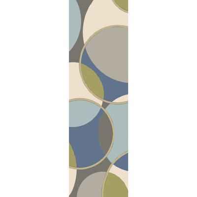 Deveau Hand-Tufted Area Rug Rug size: 5 x 8
