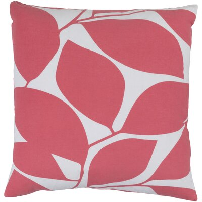 Deana 100% Cotton Pillow Cover Size: 20 H x 20 W x 1 D, Color: PinkNeutral