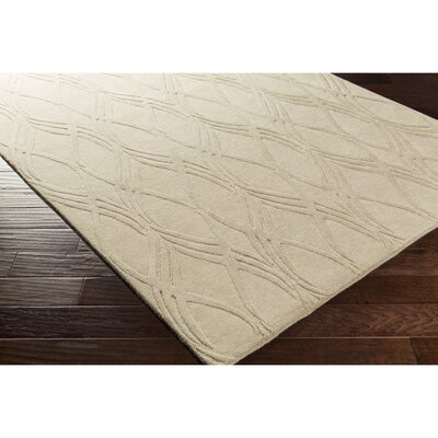 Dionne Hand-Tufted Neutral Area Rug Rug Size: 8 x 10