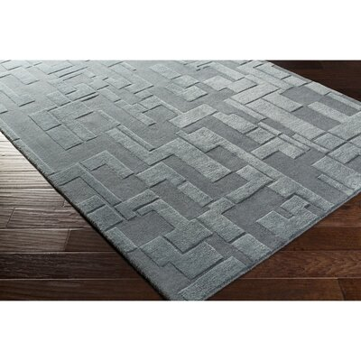 Dionne Hand-Tufted Blue Area Rug Rug Size: Rectangle 8 x 10