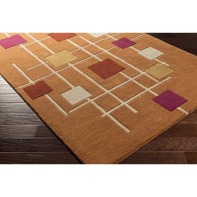 Dewald Hand-Tufted Area Rug Rug Size: Novelty 6 x 9