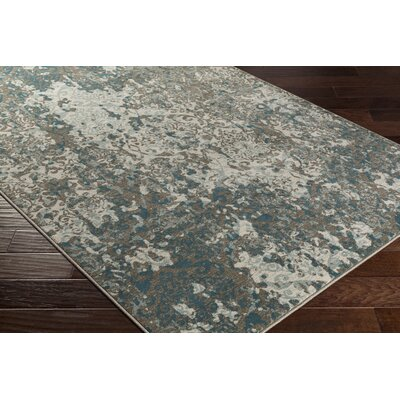 Divernon Beige/Gray Area Rug Rug Size: Rectangle 710 x 1010