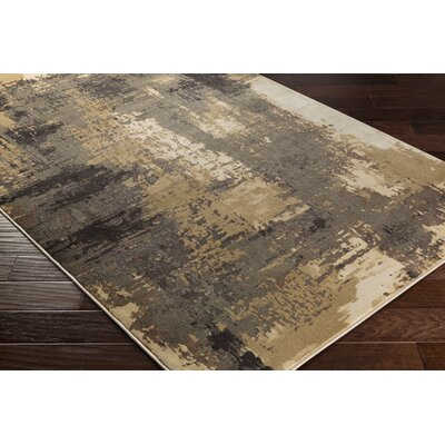 Divernon Beige/Brown Area Rug Rug Size: Rectangle 710 x 1010