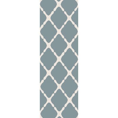 Carson Blue Indoor/Outdoor Area Rug Rug Size: Runner 26 x 8