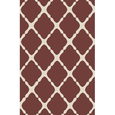 Alpena Mocha Indoor/Outdoor Area Rug Rug Size: 5 x 8
