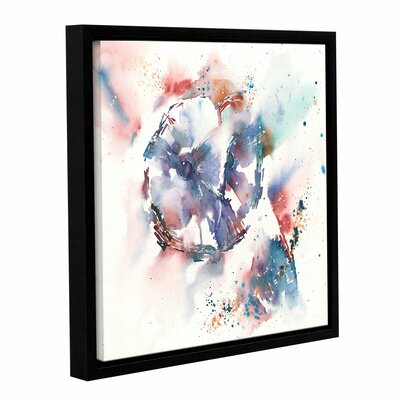'I Want to Be Alone' Framed Painting Print on Wrapped Canvas Size: 10