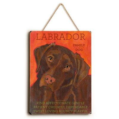 'Labrador' Rectangle Graphic Art