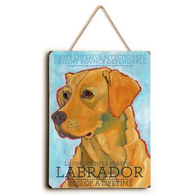 'Labrador' Graphic Art