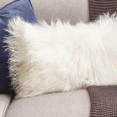 Becky Lumbar Pillow Color: Ivory