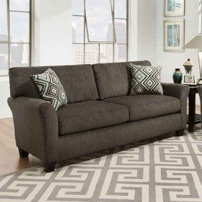 Danny Sofa Upholstery: Fifth Avenue Charcoal