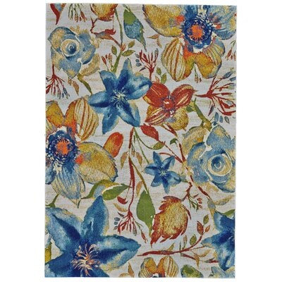 Alexander Floral Area Rug Rug Size: Rectangle 8 x 11