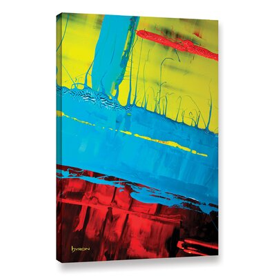 'Boundaries' Painting Print on Wrapped Canvas Size: 18