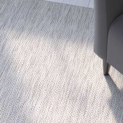 Lefferts Gray Indoor/Outdoor Area Rug Rug Size: Runner 23 x 12