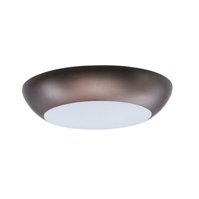 Josefa 1-Light Flush Mount Finish: Bronze