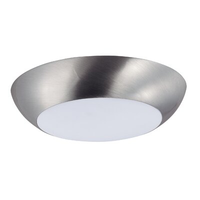 Josefa 1-Light Flush Mount Finish: Satin Nickel